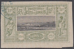 Côte Française Des Somalis 1894-1903 - N° 17 (YT) N° 16 (AM) Oblitéré. - Used Stamps