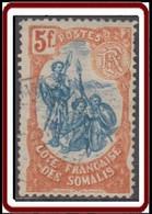 Côte Française Des Somalis 1894-1903 - N° 52 (YT) N° 51 (AM) Oblitéré. - Used Stamps