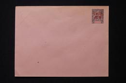 CANTON - Entier Postal ( Enveloppe ) Type Groupe Surchargé, Non Circulé - L 86441 - Covers & Documents