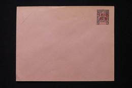 CANTON - Entier Postal ( Enveloppe ) Type Groupe Surchargé, Non Circulé - L 86442 - Covers & Documents