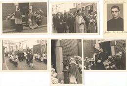 Fosses La Ville : 6 Photos Ordination De Jean Loiseau En 1960 - Unclassified