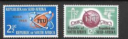 1965 - Afrique Du Sud - ITU - YT 294 295 - MNH** - Non Classés
