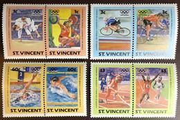 St Vincent 1984 Olympic Games MNH - St.Vincent (1979-...)