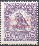 Hongrie - Occupation Française D'Arad - Timbre Semi-postal Surimprimé De Hongrie 1916-1917 - Neufs
