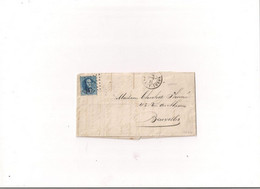 Belgique COB 15 AMBULANT N1 - 1869-1883 Leopold II