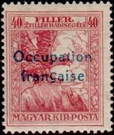 Hongrie - Occupation Française D'Arad - Aigle -  Timbre Semi-postal Surimprimé De Hongrie 1916-1917 - Neufs
