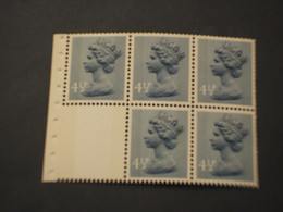 GRAN BRETAGNA - 1973 REGINA 4 1/2, Due Bande - NUOVO(++) - Unused Stamps