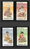1982 -  Tokelau -wood Carving -  Yt 81 /84 - MNH** - Tokelau