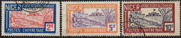 Niger Obl. N° Taxe  9, 11 Et 12 - Chameau Baraqué - Oblitérés
