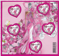 F 127 (2009) Neuf Cœur St Valentin Ungaro - Ungebraucht