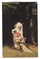 G387 - LES HURONS - Costume Traditionnel Des Amérindiens Du Canada Porté Par Le Propriétaire De La Boutique HURON - Andere