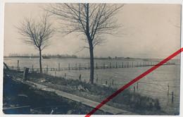 Original Foto - Stuivekenskerke - Dixmude Diksmuide - Ca. 1914 - Steg über Das Wasser - Diksmuide