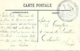 81-cachet Hôpital Temp. N°4 à Albi Sur Belle CP Couleur En 1915-cachet Répété Au Verso En Linéaire - 1. Weltkrieg 1914-1918
