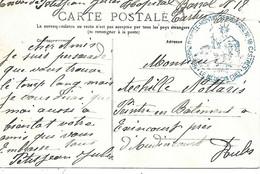 81-cachet Hôpital Temp. N°18 à Castres Sur CP En 14/18 - 1. Weltkrieg 1914-1918