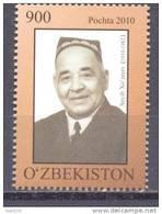 "2010. Uzbekistan, Soyib Xojayev, Artist Of Theatre ""Mukimi"", 1v, Mint/** - Uzbekistan"