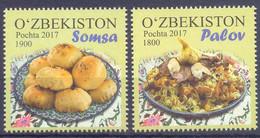 2018. Uzbekistan, Uzbeck Cuisine, 2v, Mint/** - Uzbekistan
