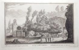 Incisione Su Rame Di A. Cardoni Napoli Capodimonte 1765 (P459) Come Da Foto 23,5 X 15,0 Cm - Prenten & Gravure