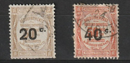 France 1917, YT T 49 - 50 °, Cote 9,00 - 1859-1955 Used
