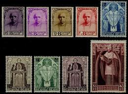 België 342/50 ** - Kardinaal Désiré Joseph Mercier - Cardinal Mercier - Unused Stamps