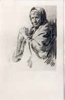 Portrait De Femme Agée    (120941) - 1900-1949