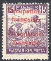 Hongrie - Occupation Française D'Arad - Timbre Surimprimé De Hongrie 1916-1917- Double Surcharge - Neufs