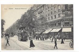 26643 - Paris Boulevard Sébastopol Tram - Arrondissement: 01