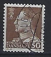 Denmark  1967  Frederik  (o)  Mi.457x (cancelled OLGOD) - Used Stamps