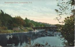 Massawippi River, Lennoxville, Quebec, Valentine & Son's, Non Circulée (18.68) - Andere