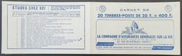 Publicité - YT Couverture Du Carnet (vide) 10111B-C38  Provins - Grammont - Grammont - Rolla - Werbung
