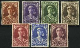 België 326/32 ** - Koningin Elisabeth Als Verpleegster - Infirmière - Unused Stamps