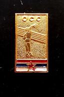 Pins/badges-quality,rare  - VOLLEYBALL FEDERATION OF YUGOSLAVIA. - Pallavolo