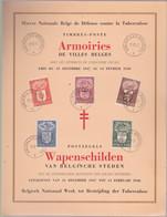 4 Feuillets Souvenir  ARMOIRES +LEGENDES BELGES.    ZIE Voir SCANS - Souvenir Cards