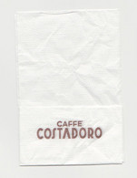 Caffè Costadoro Tovagliolino  TOVAGLIOLO Italy - Company Logo Napkins