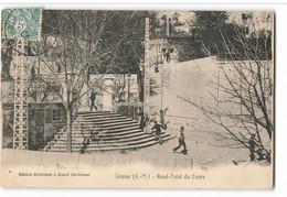 Les Escaliers Du Rond Point Du Cours J BENOIT Et Fils Pub BERGER Et LIP Grasse  GRA150 - Grasse