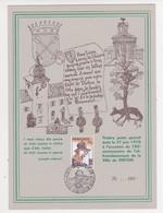 VIRTON N°1537 Sur 2 Feuillets   Souvenir     ZIE Voir SCAN - Souvenir Cards