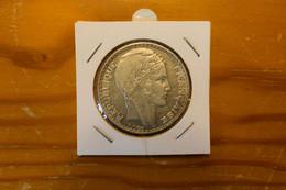 20 Francs 1933 Turin Argent Qualité - L. 20 Franchi