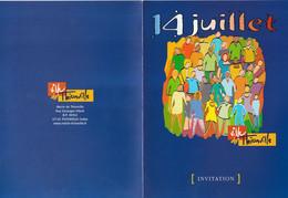 Z1 - Invitation Mairie Thionville  :14 Juillet 2004 - Non Classificati