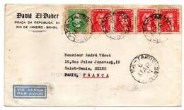 Brésil--1961--Lettre De RIO DE JANEIRO Pour St DENIS (France)....timbres ......cachet...David El Daher - Cartas