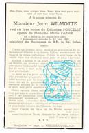DP Jean Wilmotte ° Brisy Cherain Gouvy 1851 † 1943 X C. Poncelet Xx M. Farnir - Andachtsbilder