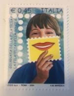 2004 - Italia - La Filatelia Nella Scuola - E. 0,45 - 2001-10:  Nuovi
