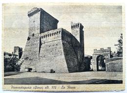 PIANCASTAGNAIO (SIENA) - La Rocca (Viaggiata 1939) - Siena