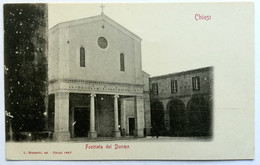 CHIUSI (SIENA) - Facciata Del Duomo - Siena
