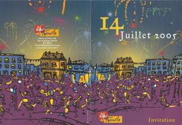 Z1 - Invitation Mairie Thionville  :14 Juillet 2005 - Non Classificati