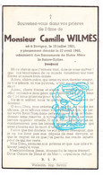 DP Camille Wilmès 21ans ° Bovigny 1921 † 1942 - Andachtsbilder