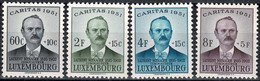 1951 Luxembourg, Luxemburg CARITAS Laurent Menager, Série Neuf**MNH Paire Valeur Catalogue:45€ - Unused Stamps