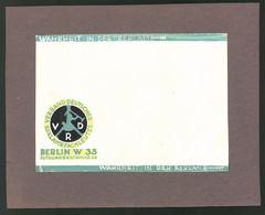 Ansichtskarten-Entwurf Erich Roehle, Glauchau I. Sa., Verband Deutscher Reklame-Fachleute, Berlin, Potsdamerstr. 48 - Drawings