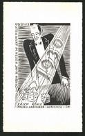Ansichtskarten-Entwurf Erich Roehle, Glauchau I. Sa., Neujahrsgruss 1930, Spieler Würfelt Ein Sechser-Pasch - Drawings