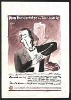 Ansichtskarten-Entwurf Erich Roehle, Glauchau I. Sa., Vom Hundertsten Ins Tausendste, Festhalle Bautzen - Drawings