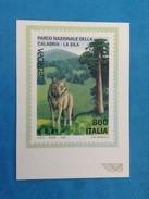 POSTE ITALIANE DIVISIONE FILATELIA CARTOLINA NUOVA EUROPA 1999 PARCO NAZIONALE CALABRIA LA SILA - Cartes-Maximum (CM)