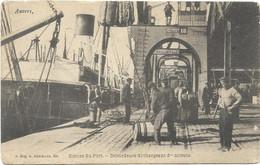 CPA - édit, G. HERMANS - 609 - Anvers - Scènes Du Port - Débardeurs Déchargeant Du Nitrate - Antwerpen